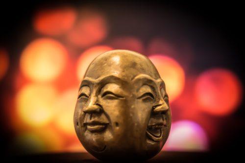 Budda's face
