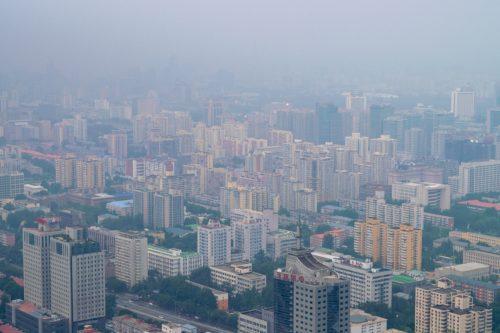 Poluted air