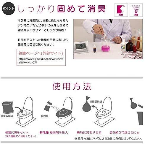 簡易トイレ SANYO30(30回分)説明3